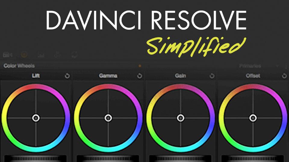 Color Grading in Davinci Resolve 12.5 Simplified by Alex Jordan